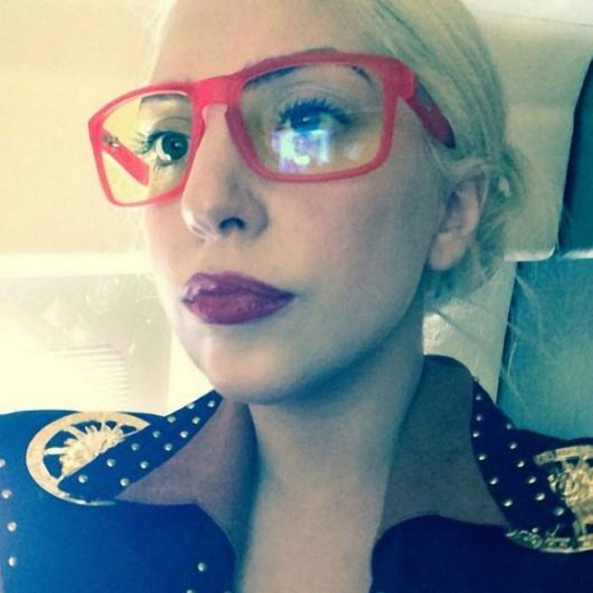 "Lady Gaga Runs ""Minecraft"" While Rocking Gunnar Optiks"