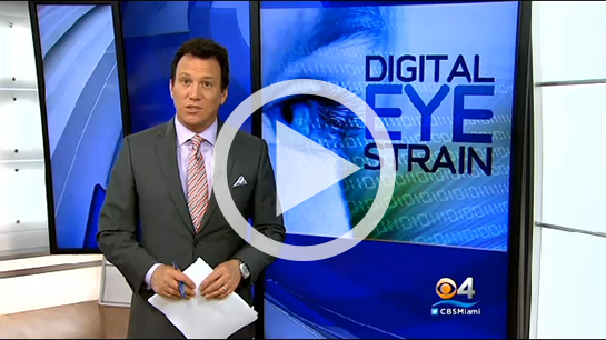 CBS News Brings Digital Eye Strain Report Total Impressions Over 300 Million