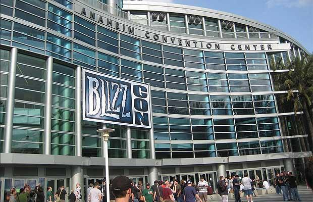 entrance at the blizzcon gaming event
