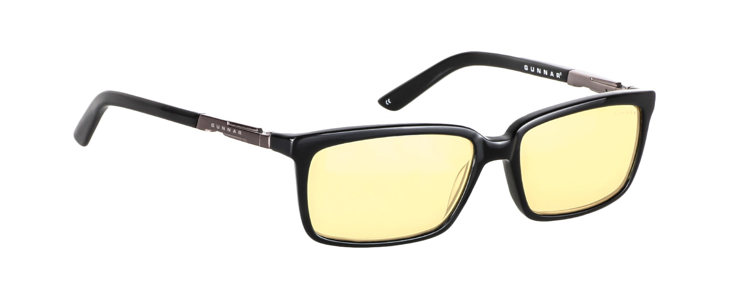 GUNNAR's Haus frame with Amber lenses