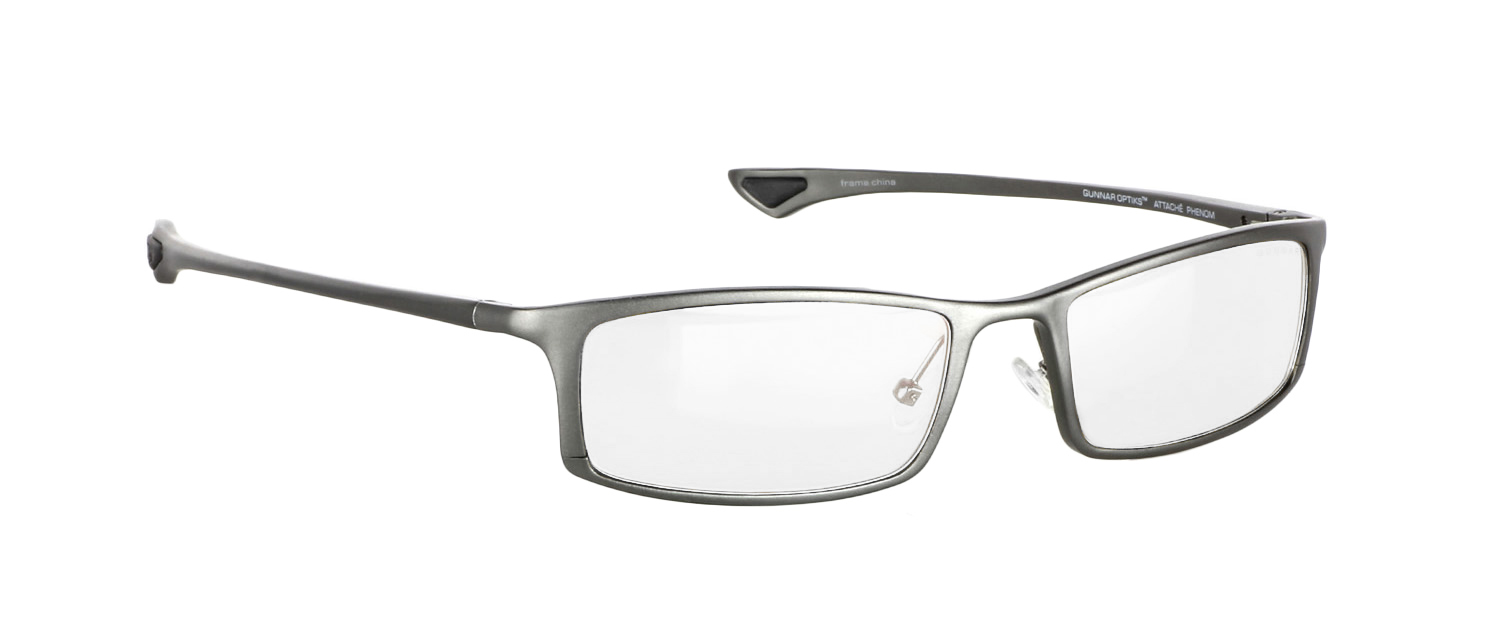 GUNNAR's Phenom frame with Crystalline lenses