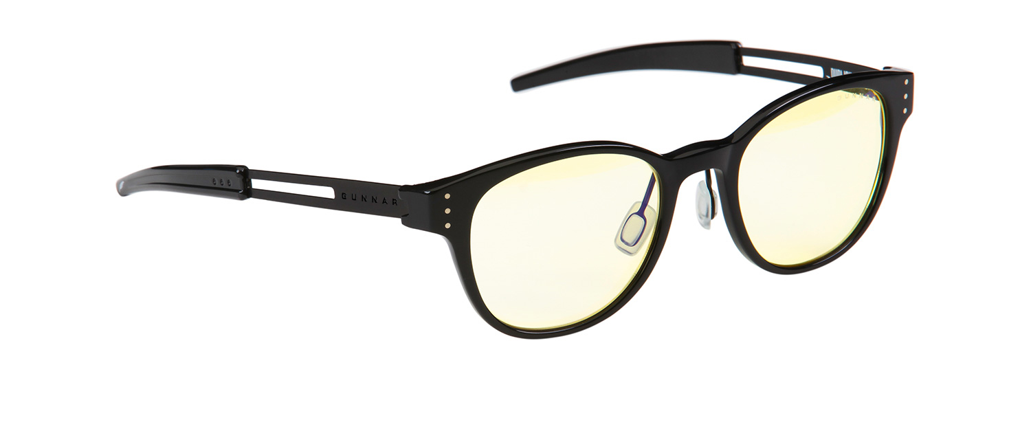 GUNNAR's Publish frame with Amber lenses