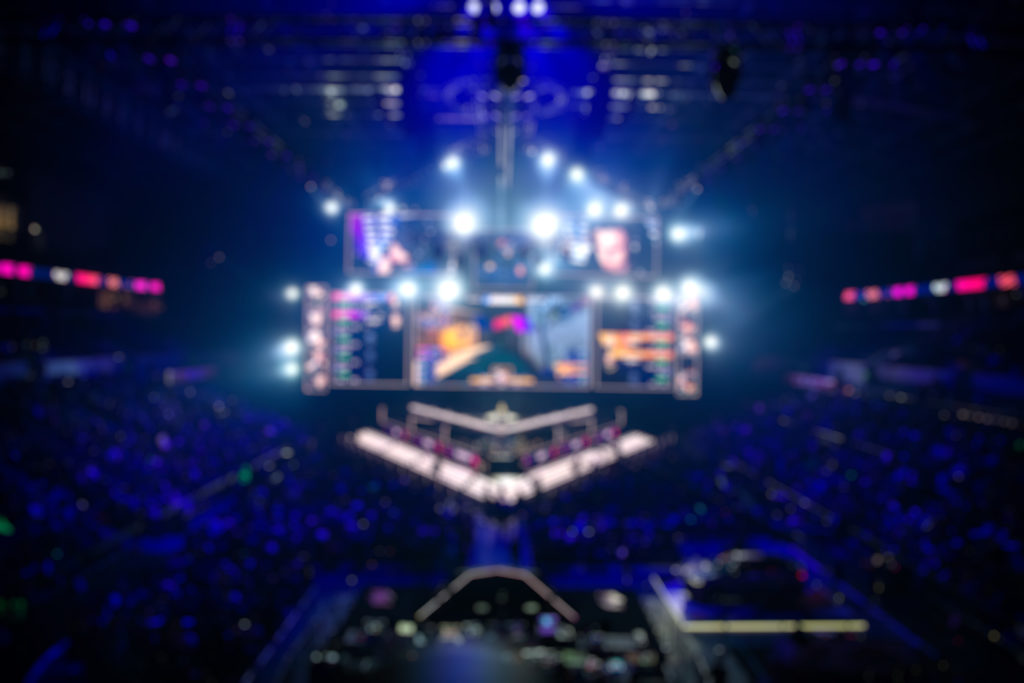 blurred background of an esports event big QQJLS4G 1024x683 - The eSports Phenomenon