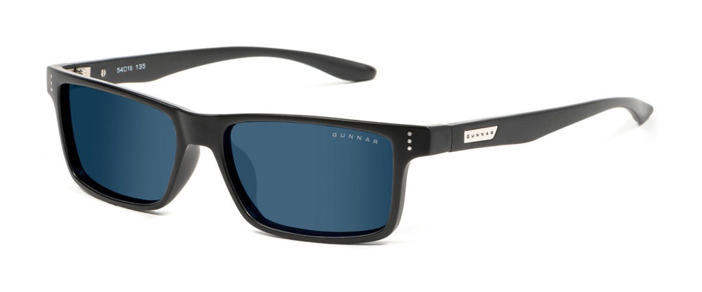 vertex blue blocker sunglasses by gunnar