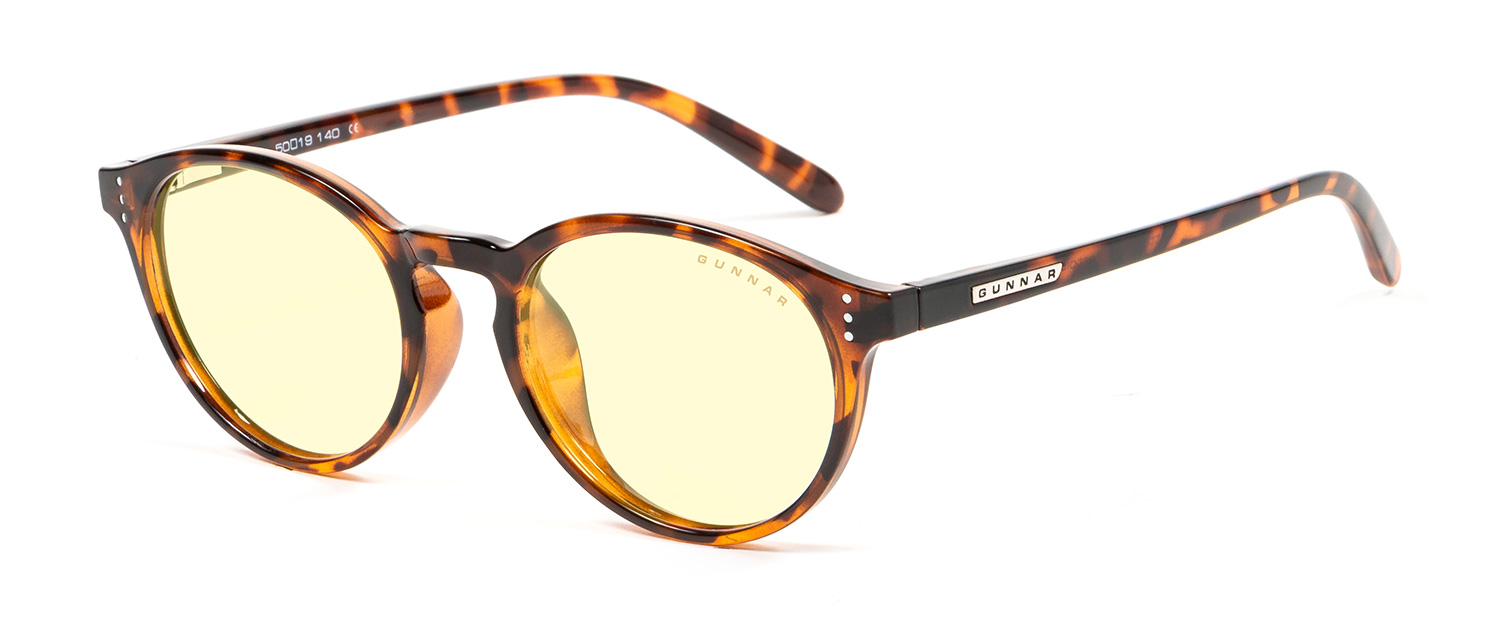 attache tortoise amber 3 4 - Attaché Reading Glasses