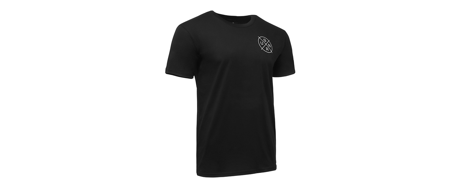 GUNNAR Shirt crosshair 3q right - Crosshair T-Shirt