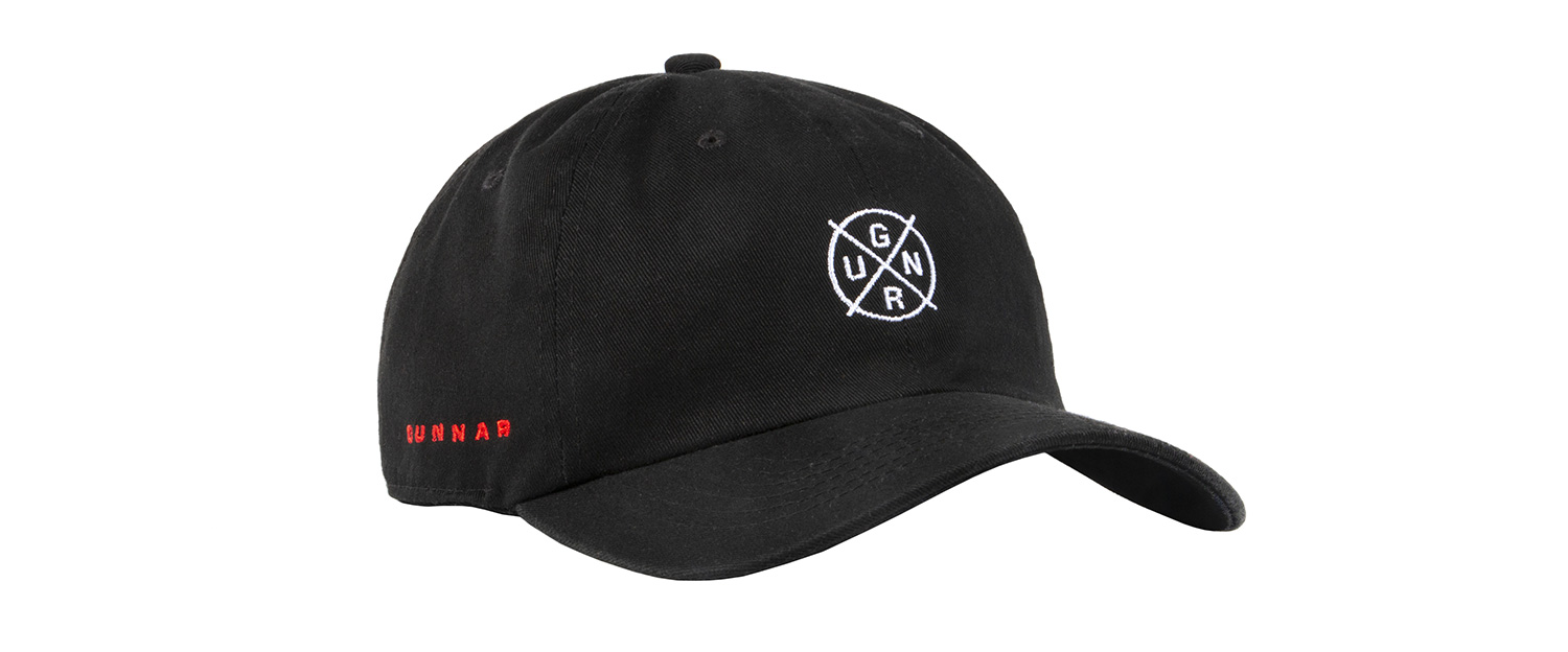 GUNNAR dad left 3q - Crosshair Dad Hat
