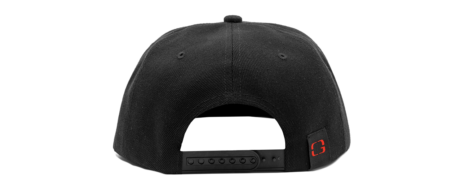 Hat black back - Snapback Hat