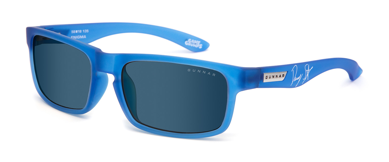 Enigma Cobalt Sun 3 4 - Game Grumps Enigma Prescription Sunglasses