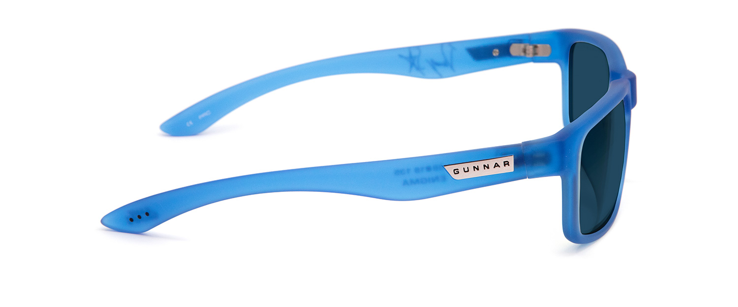 Enigma Cobalt Sun Profile - Game Grumps Enigma Prescription Sunglasses