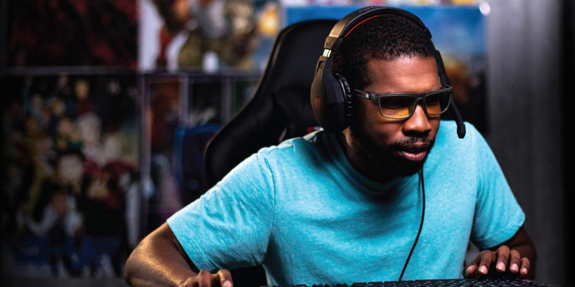 gn gaming valve smoke amber optimized - Comfortable Glasses For Serious Gamers