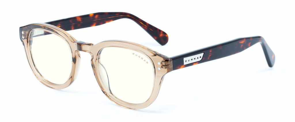 Emery rose tortoise clear 3 4 1024x426 - Best Computer Glasses by GUNNAR