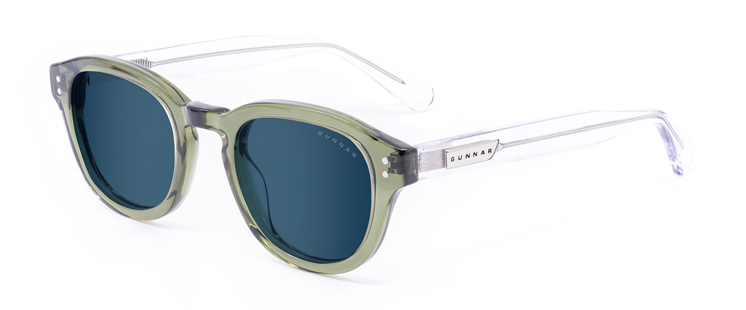 Emery sage crystal sun 3 4 - Emery Prescription Sunglasses