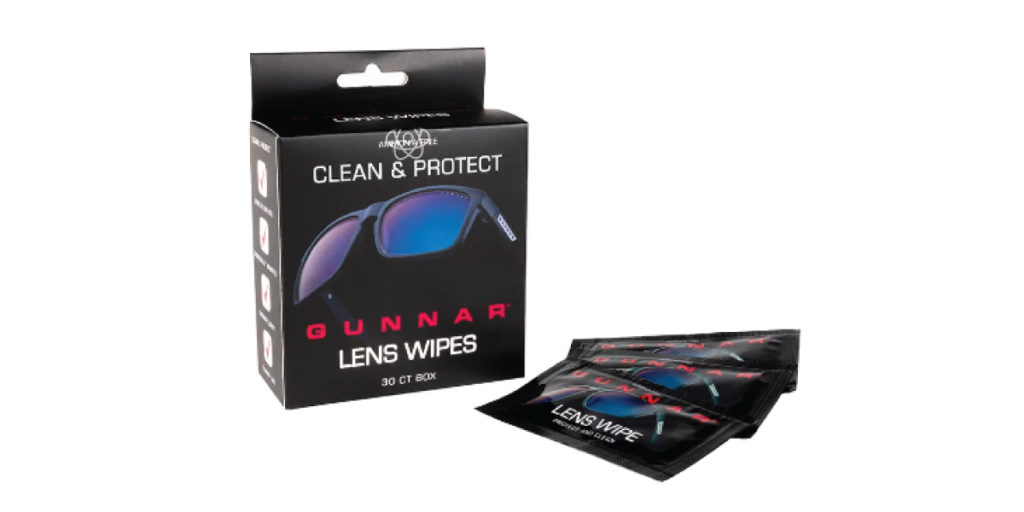 blue light lens wipes for cleaning glasses
