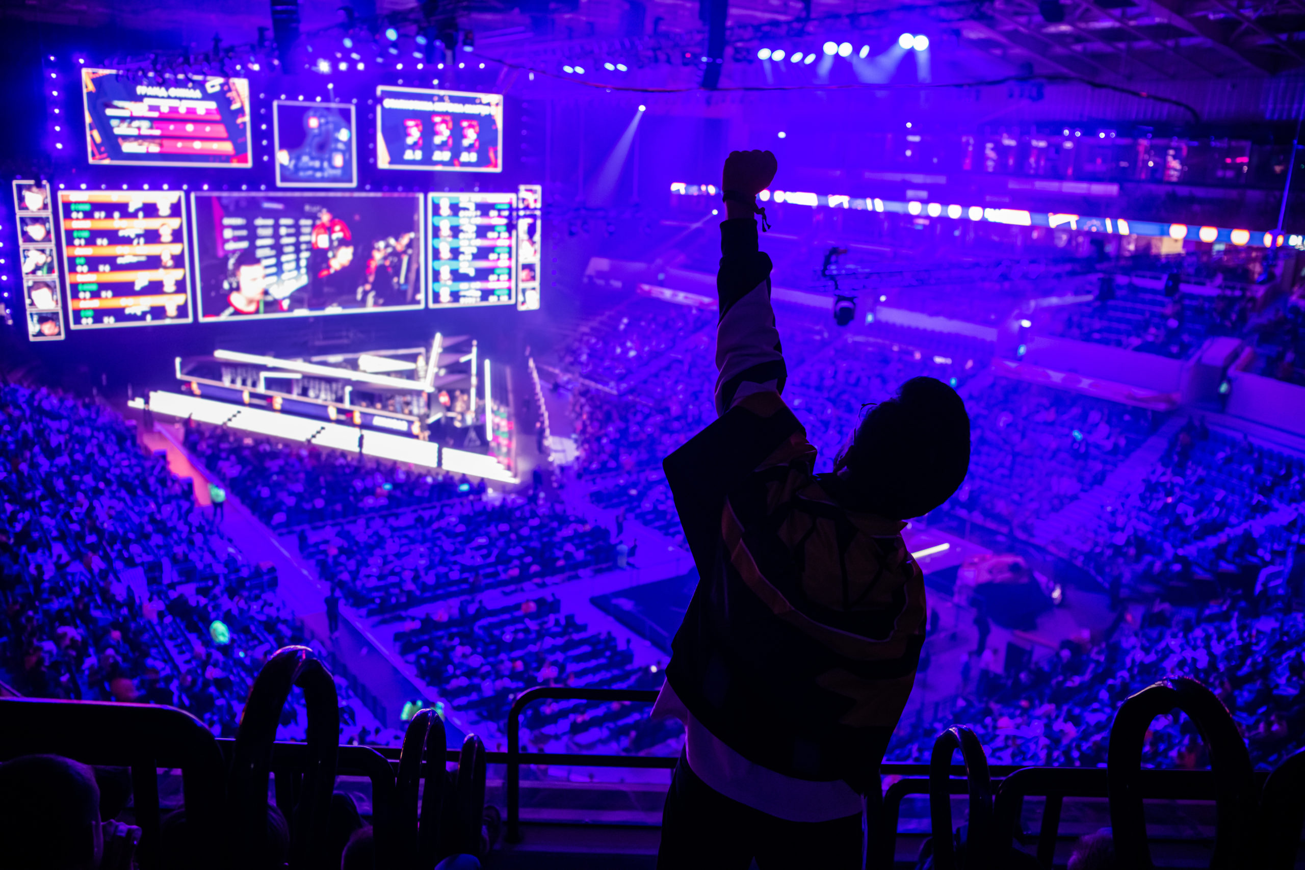 big esports event video games fan on a tribune at H7KAK7S scaled - The Best Gaming Events of 2020