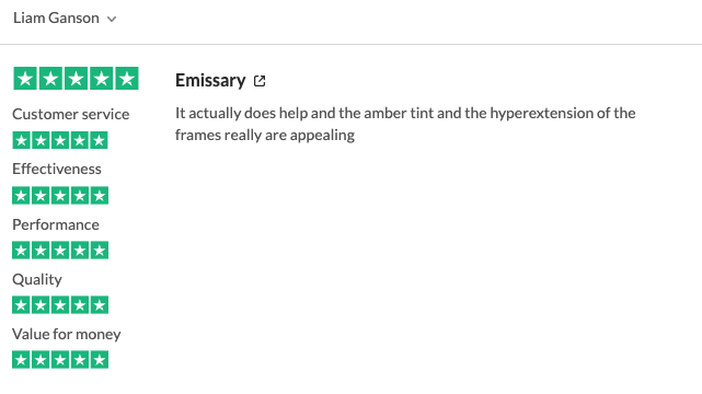 emissary computer glasses review