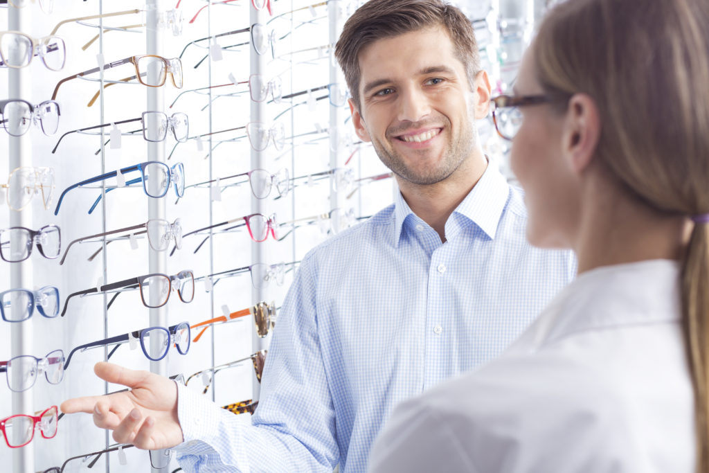 how to order glasses online instead of shopping in store