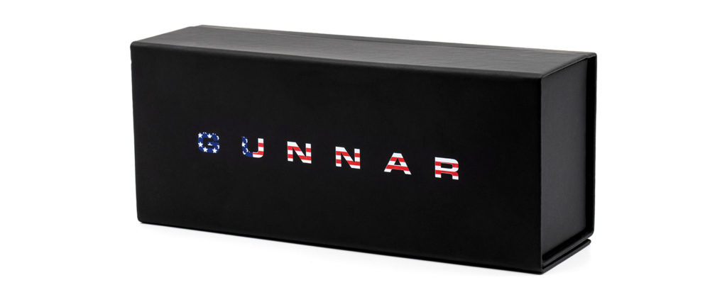 GUNNAR Limited Edition Patriotic Glasses Case