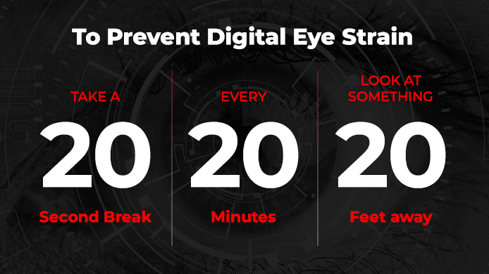 digital eye strain prevention
