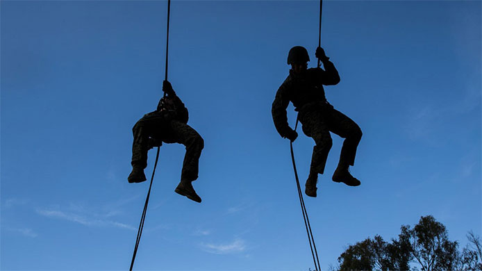 US Marines Training at Camp Pendleton
