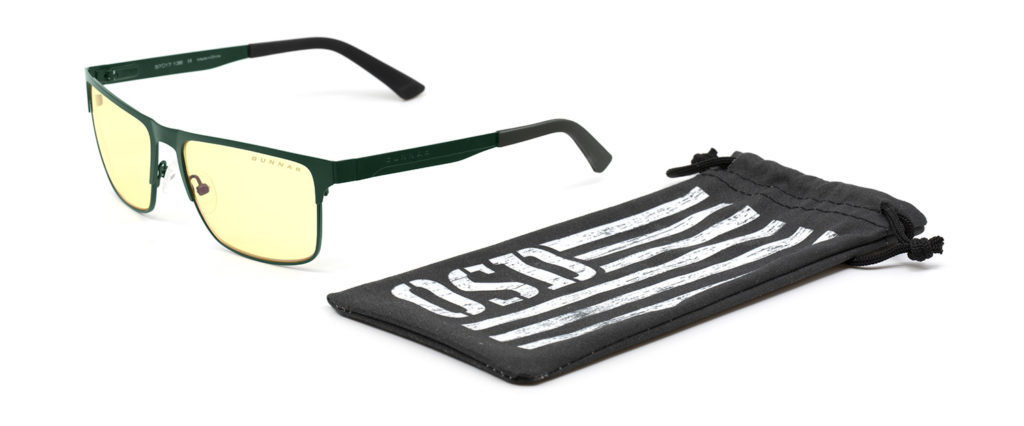 Moss Framed Pendleton Glasses supporting OSD