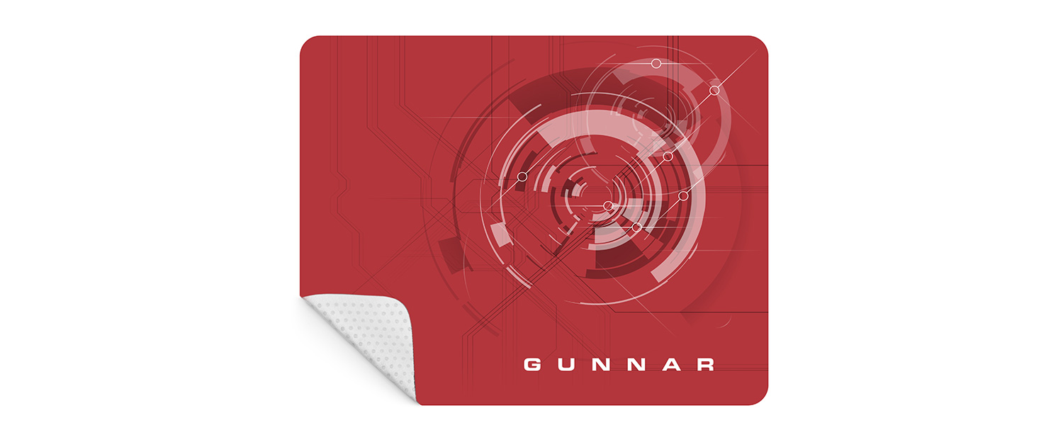GUNNAR Mouse Pad 1500x624 1 - Lightning Bolt 360