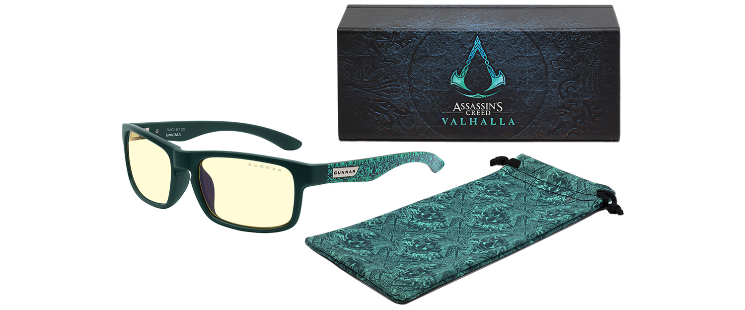 AC Valhalla Enigma amber case pouch - Enigma, Assassin's Creed: Valhalla Edition Prescription