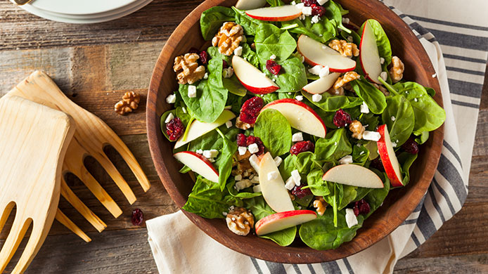 Salad perfect for Thanksgiving side and healthy for your eyes