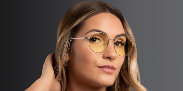 round frame glasses ellipse