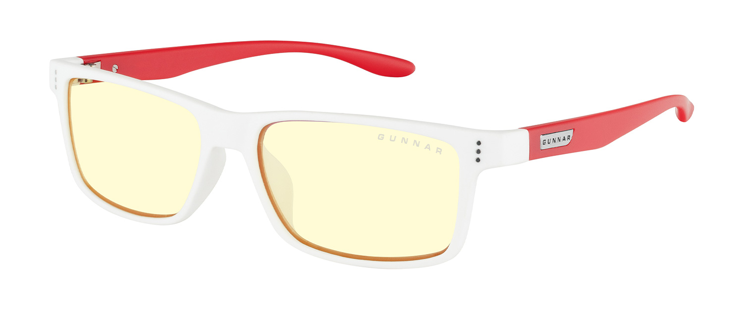 kids computer glasses cruz collection for st jude red white amber