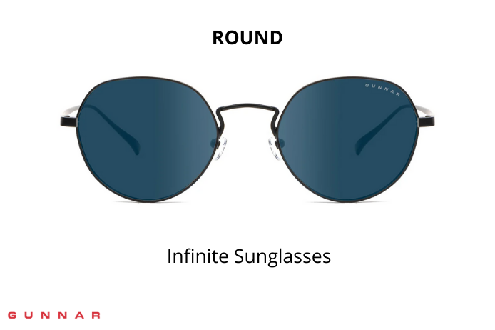 infinite round sunglasses for small faces