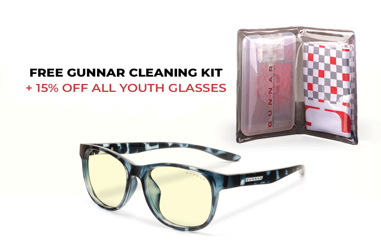 Free Cleaning Kit +10 OFF all Youth Glasses