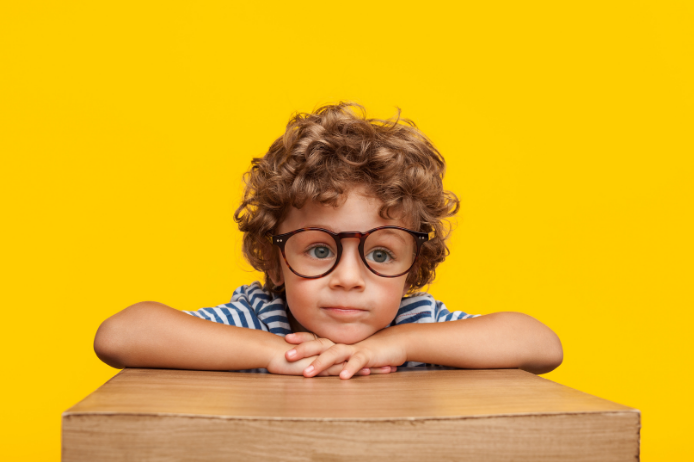 getting kids to wear glasses